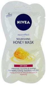 Nivea Aqua Effect výživná medová maska