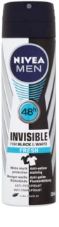 Nivea Men Invisible Black & White spray anti-transpirant