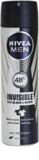 Nivea Men Invisible Black & White antiperspirant v spreji pre mužov