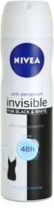 Nivea Invisible Black & White Pure Antitranspirant-Spray