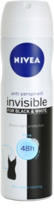 Nivea Invisible Black & White Pure Antiperspirant Spray