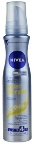 Nivea Brilliant Blonde Styling Mousse For Blonde Hair