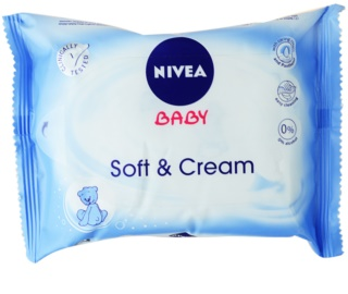 Nivea Baby Soft & Cream Cleansing Wipes for Kids
