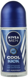 Nivea Men Cool Kick roll-on antibacteriano para homens