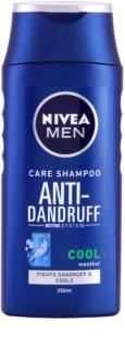 Nivea Men Cool Shampoo gegen Schuppen für juckende und gereizte Haut