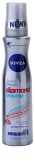 Nivea Diamond Volume Styling Mousse For Volume And Shine