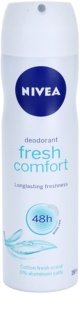 Nivea Fresh Comfort deodorante spray