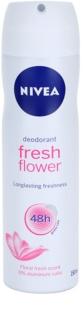Nivea Fresh Flower desodorizante em spray