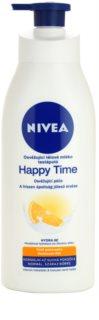 Nivea Happy Time lait rafraîchissant corps pour peaux normales et sèches