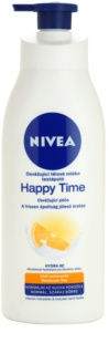Nivea Happy Time Refreshing Body Lotion For Normal And Dry Skin