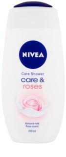 Nivea Care & Roses gel de banho cuidado intensivo