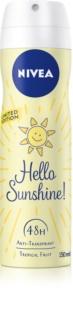 Nivea Hello Sunshine! antitraspirante