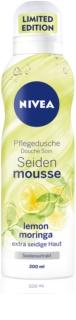 Nivea Silk Mousse Lemon Moringa Caring Shower Foam