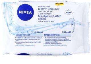 Nivea Micellar почистващи кърпички за лице 3 в 1