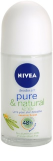 Nivea Pure & Natural desodorante roll-on