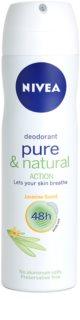 Nivea Pure & Natural deodorante spray 48 ore