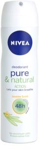 Nivea Pure & Natural dezodorant w sprayu 48 godz.