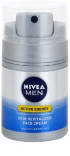Nivea Men Revitalising Q10 krema za obraz za suho kožo