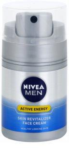 Nivea Men Revitalising Q10 crema pentru ten  ten uscat