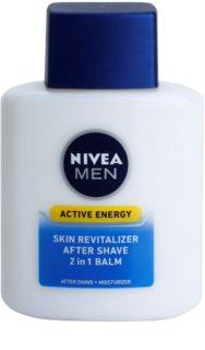 Nivea Men Active Energy revitalizáló balzsam borotválkozás után 2 az 1-ben