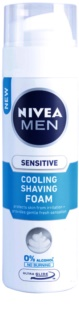 Nivea Men Sensitive espuma de barbear com efeito resfrescante