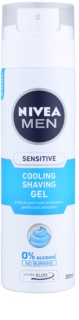 Nivea Men Sensitive gel de ras cu efect racoritor