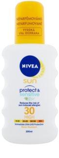 Nivea Sun Pure & Sensitive spray do opalania SPF 30