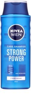 Nivea Men Strong Power champô para cabelo normal