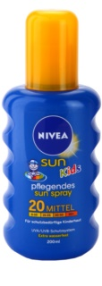 Nivea Sun Kids детски слънцезащитен цветен спрей SPF 20