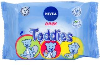 Nivea Baby Toddies lingettes nettoyantes pour enfant