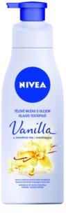 Nivea Vanilla & Almond Oil testápoló tej olajjal