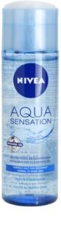 Nivea Visage Aqua Sensation čistiaci gél pre normálnu až zmiešanú pleť