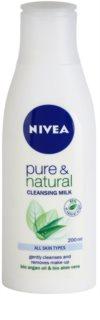 Nivea Visage Pure & Natural leche limpiadora para rostro