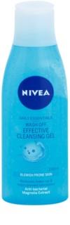 Nivea Visage Pure Effect τζελ καθαρισμού