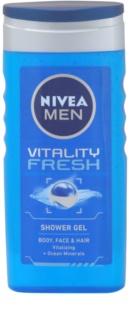 Nivea Men Vitality Fresh gel za tuširanje za kosu i tijelo