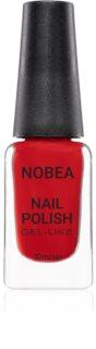 NOBEA Festive lak za nohte z gel učinkom