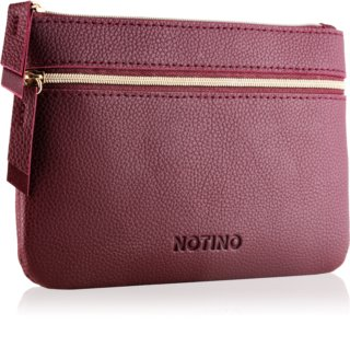 Notino Glamour Collection Flat Double Pouch taštička s dvěma přihrádkami