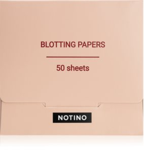 Notino Glamour Collection Blotting Papers Servetter för absorbering av överflödigt glans
