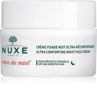 Nuxe Rêve de Miel Voedende en Hydraterende Nachtcrème  voor Droge Huid