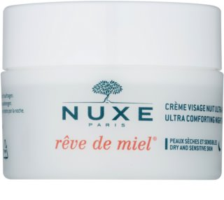 Nuxe Reve de Miel нічний поживний крем для сухої шкіри