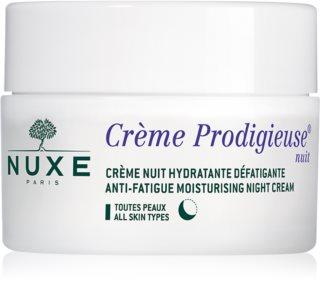 Nuxe Crème Prodigieuse Creme Prodigieuse crème de nuit hydratante pour tous types de peau