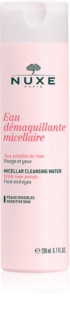 Nuxe Cleansers and Make-up Removers lozione micellare detergente per pelli e occhi sensibili