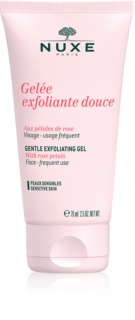 Nuxe Cleansers and Make-up Removers esfoliante de limpeza para pele sensível