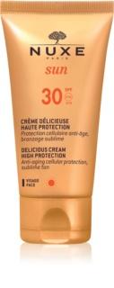 Nuxe Sun слънцезащитен крем за лице SPF30