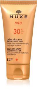 Nuxe Sun слънцезащитен крем за лице SPF 30