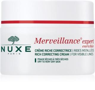 Nuxe Merveillance крем проти зморшок для сухої та дуже сухої шкіри