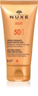 Nuxe Sun слънцезащитен крем за лице SPF50