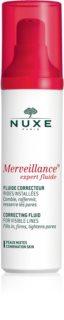 Nuxe Merveillance Korrektur-Fluid strafft die Haut und verfeinert Poren