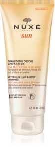 Nuxe Sun Șampon după soare pentru corp si par