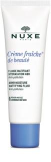 Nuxe Creme Fraîche de Beauté soin hydratant matifiant pour peaux mixtes